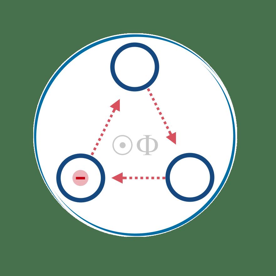 Attonuclei's nanoelectronics pictogram